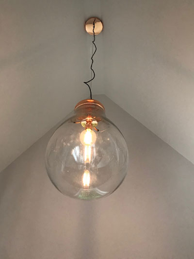 New light fitting